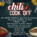 Chili Cookoff – October 17th